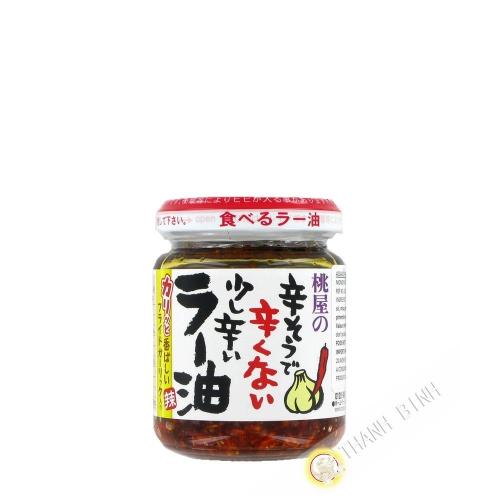 La pasta de guindilla en aceite MOMOYA 110g Japón
