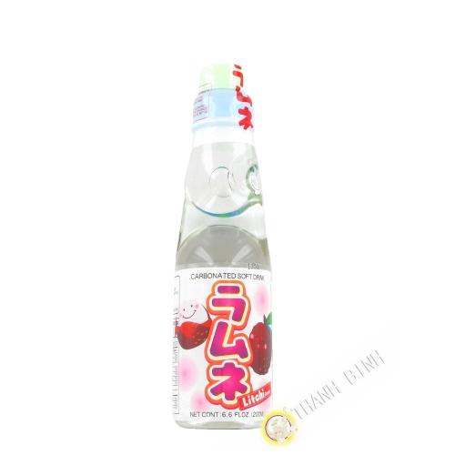 Limonade japonaise ramune litchi CTC 200ml Japon