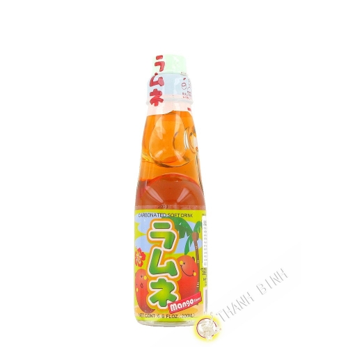 Limonade japonaise ramune mangue CTC 200ml Japon