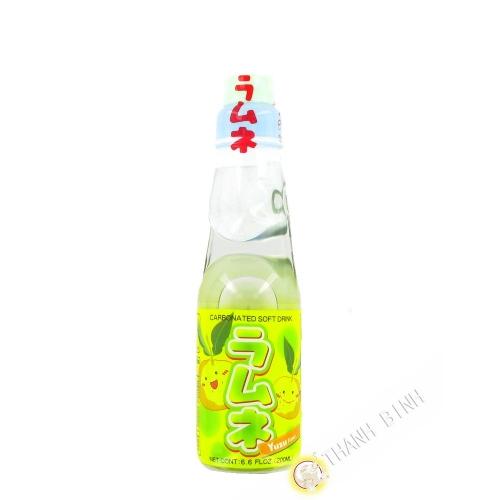 Limonade japonaise ramune yuzu CTC 200ml Japon