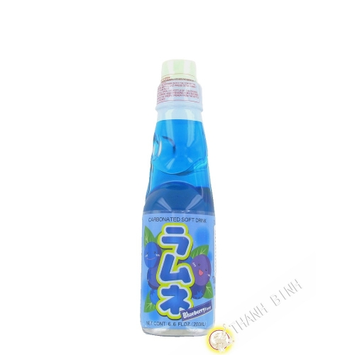 Limonade japonaise ramune myrtille CTC 200ml Japon