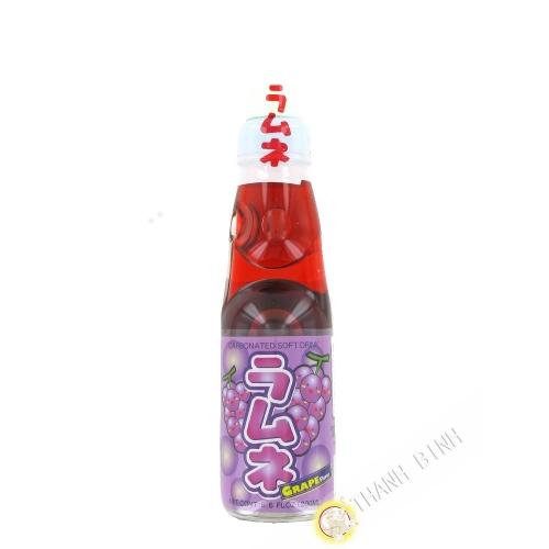 Limonade japonaise ramune grape CTC 200ml Japon