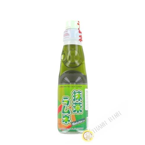 Limonade japonaise ramune thé matcha CTC 200ml Japon