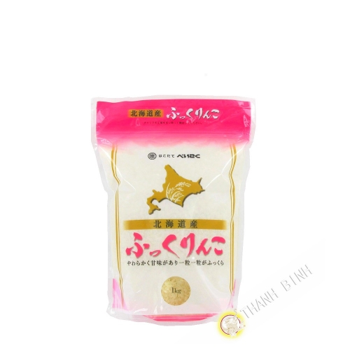 Sodachi gạo Nhật HAKODATEBEIKOKU 1kg Nhật Bản