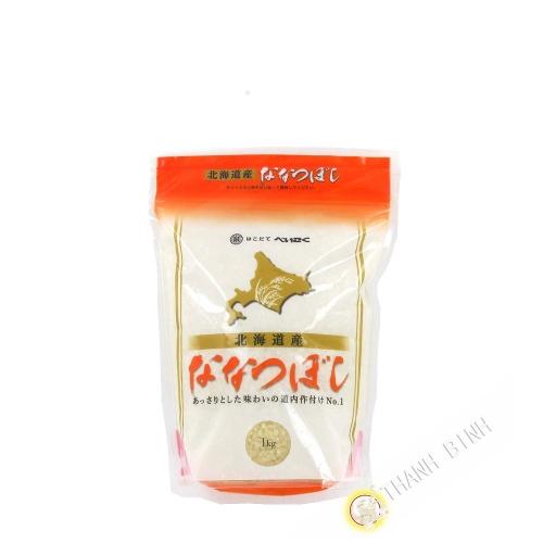 Gạo Nhật bản hokkaido nanatsuboshi HAKODATEBEIKOKU 1kg Nhật Bản