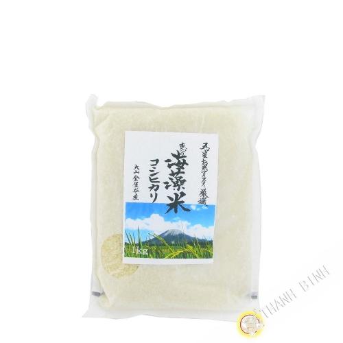Gạo Nhật Kanayadani NUMATA 1kg Nhật Bản