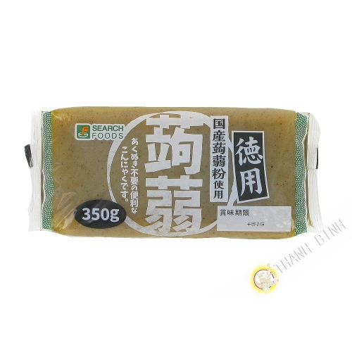 Tablet of konnyaku black SARCH 350g Japan