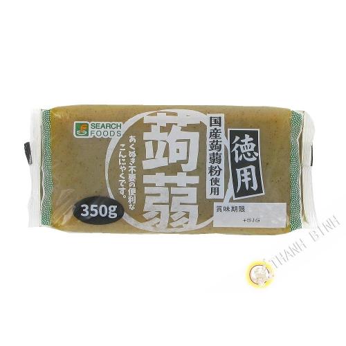 Tablette de konnyaku noir SARCH 350g Japon