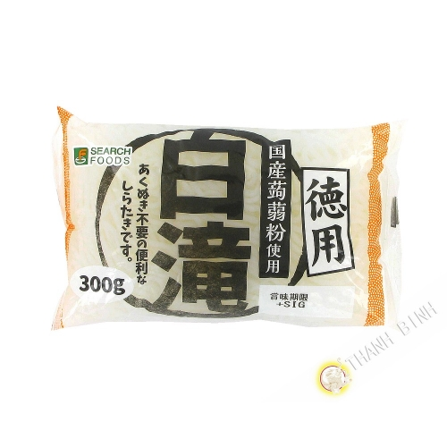 Nudel shirataki schwarz SARCH 350g Japan