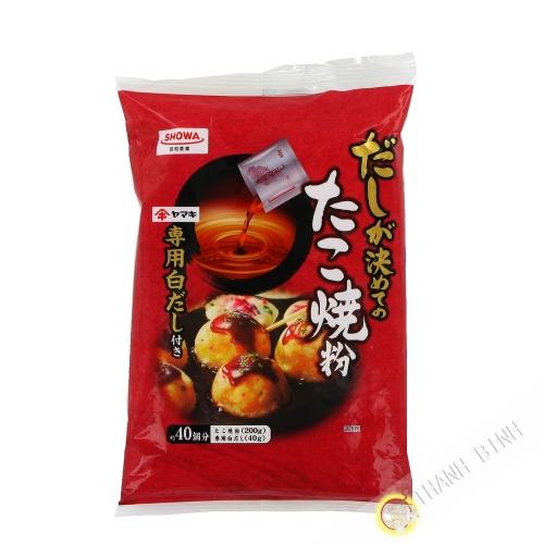 La harina para el relleno de takoyaki SHOWA 240g Japón
