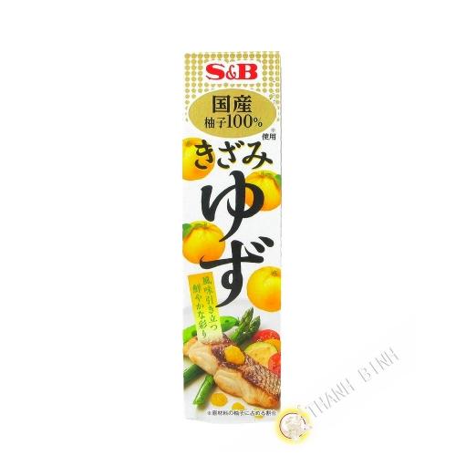 Pâte de yuzu en tube SB 40g Japon