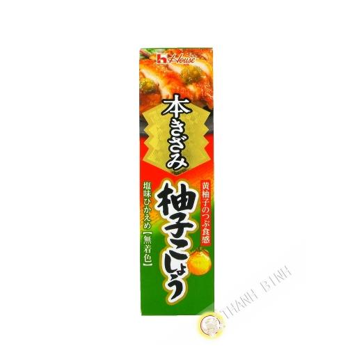 Pâte de yuzu épice en tube SB 40g Japon