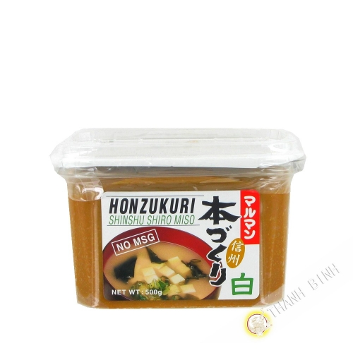 Miso paste clear MARUMAN 500g Japan