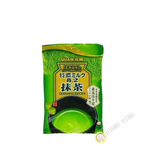 Milk candy and matcha green tea UHA 80g Japan