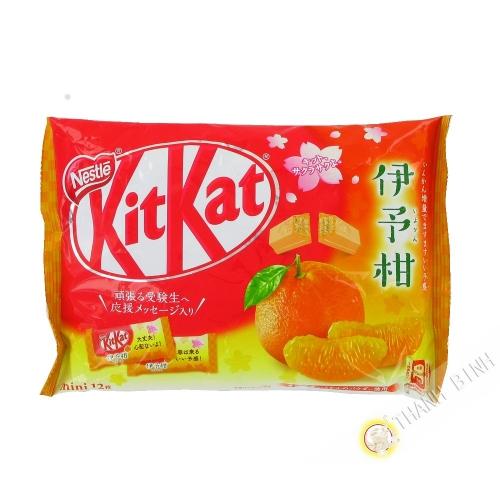 Kitkat geschmack mandarine NESTLE 139.2 g Japan