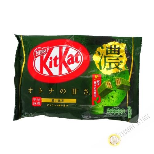 Kitkat sabor doble matcha NESTLE 135.6 g Japón