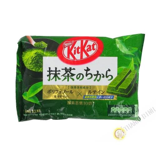 Kitkat gusto matcha té verde NESTLE 139.2 g Japón