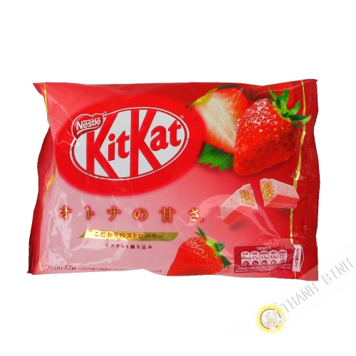 Kitkat strawberry taste NESTLE 135.6 g Japan