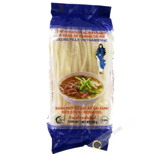 Fideos de arroz pho NIÑA de 5 mm de Vietnam 400g