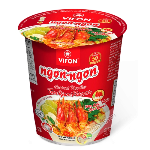 Suppe, Nudel-Lau-Thai-Tom-Yum-VIFON LY 60g Vietnam