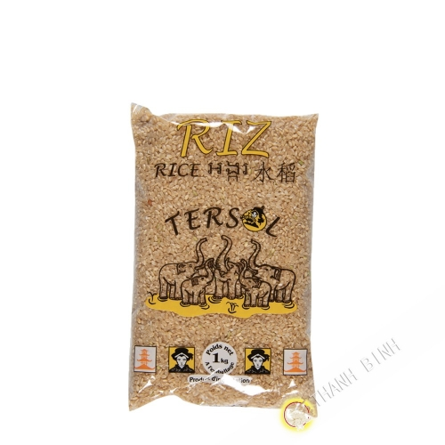 Brown rice long TERSOL 1kg Italy