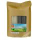 Straw edible biodegradable DRAGON GOLD 19cmX13mm 50pcs VIET NAM
