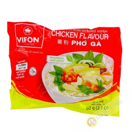 Soupe pho poulet VIFON 60g Vietnam
