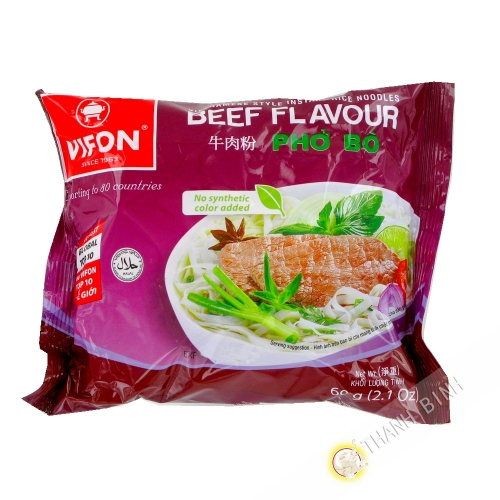 Soup pho beef VIFON 60g Vietnam