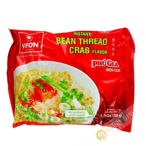 Sopa de fideos, cangrejo PHU GIA VIFON 50g de Vietnam