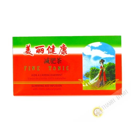 Tè di dimagramento di Fine Tonico 36g CH