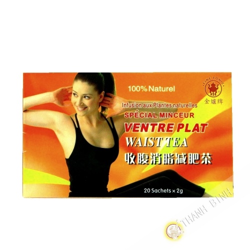 Tea flat belly special slimming 20x2g China