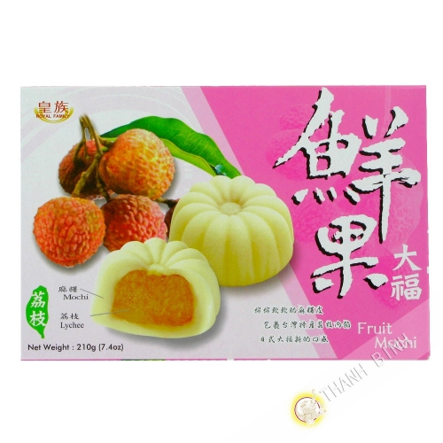 Mochi japonais litchi ROYAL FAMILY 210g Chine