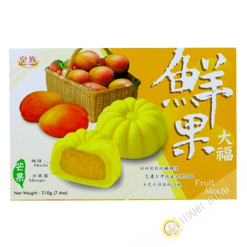 Mochi japonais mangue ROYAL FAMILY 210g Chine