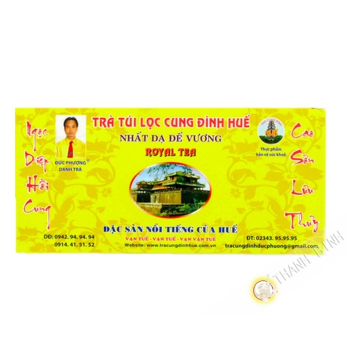 Té verde imperial de HUE, 75 g de Viet Nam