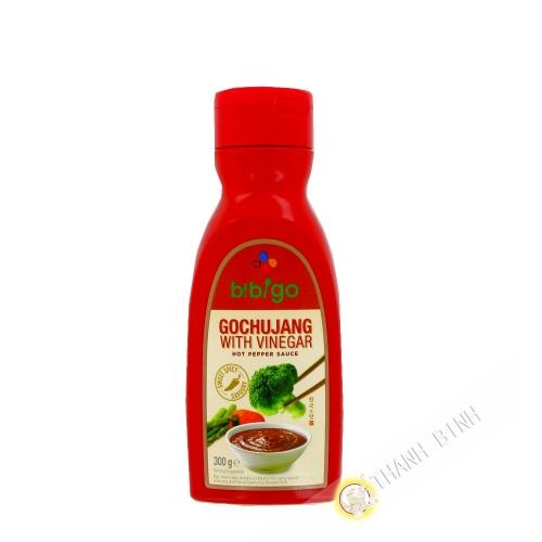 Aceto salsa di peperone rosso Gochujang BIBIGO 300g di Corea