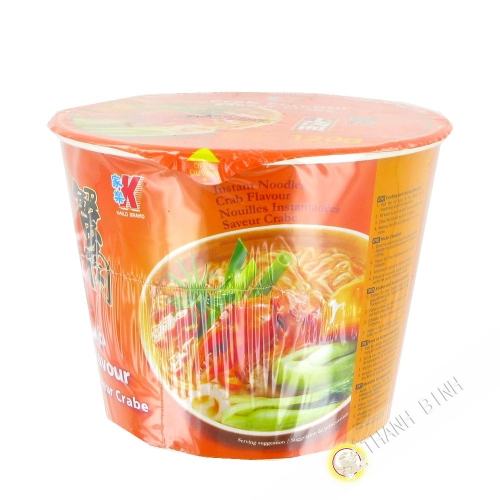 Soup noodle flavor crab cup KAILO 120g China