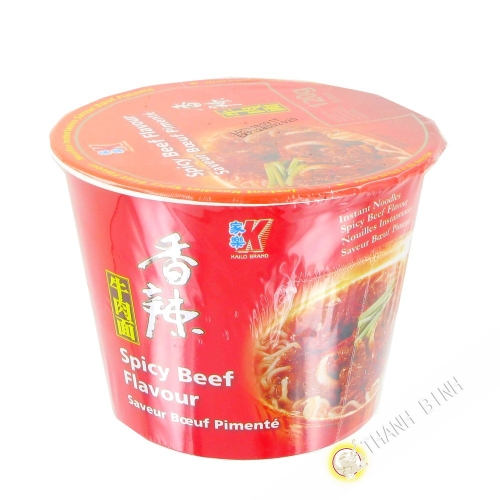 Soup noodle flavor with beef cup KAILO 120g China