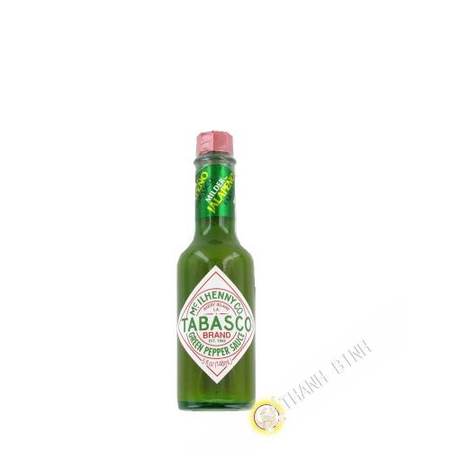 Pimiento verde salsa TABASCO 148ml, estados UNIDOS