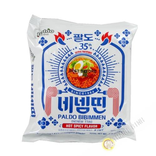 Nouille Sauté Bibimyun Hot PALDO 130g Corée
