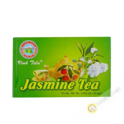 El té de jazmín en una bolsita 20x2g VINH TIEN Viet Nam