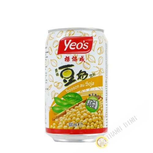 Lait soja canette YEO'S 330ml Chine
