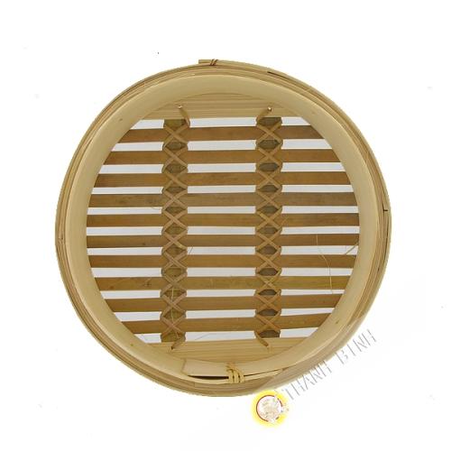 Vapore vassoio di bambù