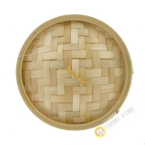 Cubierta, baño de vapor de bambú