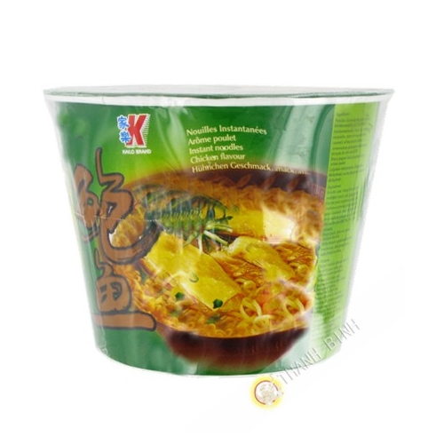 Soup noodle taste chicken cup KAILO 120g China
