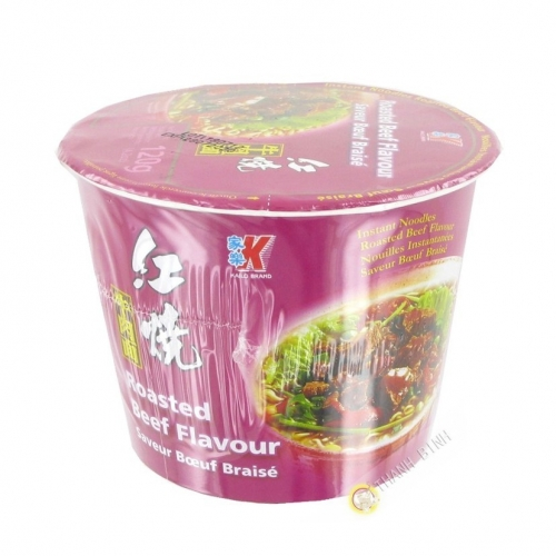 Zuppa di instantanee Kailo aroma di manzo alla griglia 120g