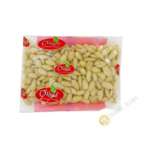 Amandes blanchies crues ORIENCO 250g USA