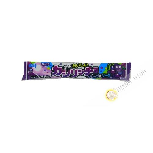 Caramelo de palo, suave de la uva 15g Japón