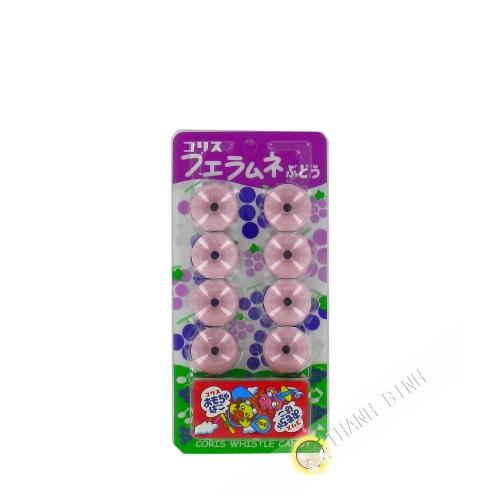 Candy silbato uvas 8 piezas Japón