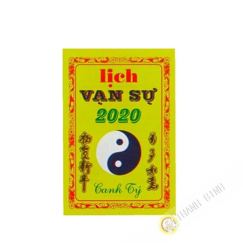 Calendario Lich Van Su 2020