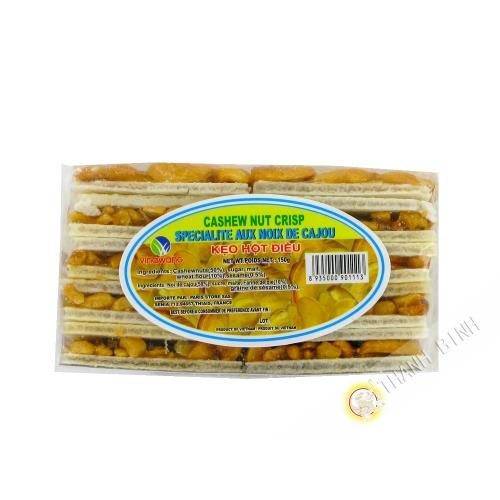 Gateau au noix de cajou VINAWANG 150g Viet Nam